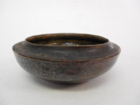George Ohr Small Pottery Bowl