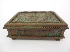 Tiffany Studios Pine Needle Small Box
