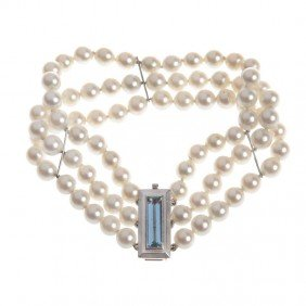 Pearl Bracelet ,  50-ties XX Century