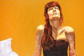 Robert Waleka Rose, 2007  Acrylic/canvas, 80 X 120 C
