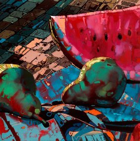 Rafal Gadowski (b. 1973 ) Watermelon 03, From The Cy