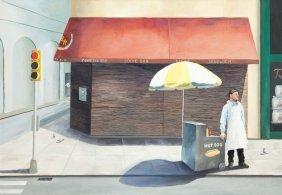 Lukasz Ratajczyk (b. 1989 , Gdansk) New York Hot Dog St