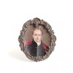Unknown Artist, 19th Century, Miniature - Portrait Of