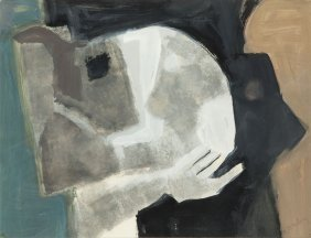 Marc Sterling (1898 - 1976) Composition In Hand; Guache