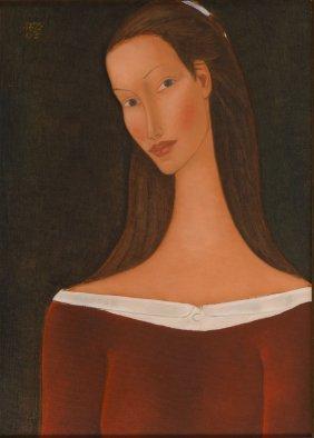 Roman Zakrzewski (1955 - 2014) Female Portrait, 2003;