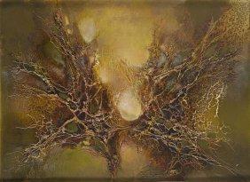 Zdzislaw Salaburski (1922 - 2006) Abstract Composition,