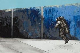 Daniel Bialowas (b. 1975) Futurama, 2015, Acrylic On