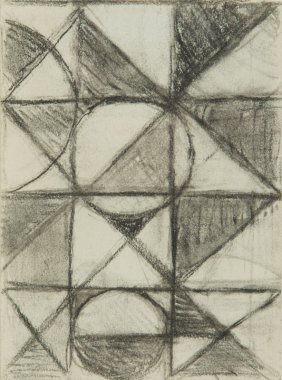 Henryk Berlewi (1894 - 1967) Abstract Composition,