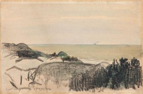 Leon Wyczolkowski (1852 - 1936), Landscape, 1923,