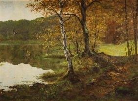 Georg Majewicz (1897 - 1965), Landscape With Wild