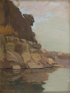 """Wlodzimierz Nalecz (1865 - 1946), """"czacki's Head"""","""
