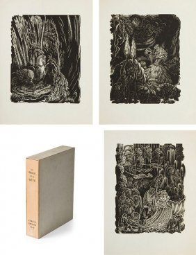Stefan Mrozewski (1894 - 1975) Beauty And The Beast,