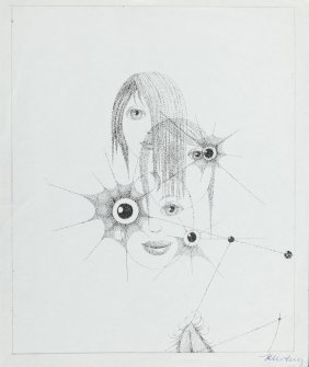Kazimierz Mikulski (1918 - 1998) Untitled, Mixed Media