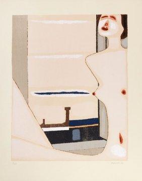 Jerzy Nowosielski (1923 - 2011) Nude, 1999, Silkscreen