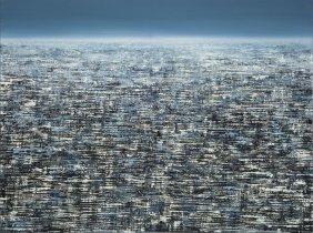 Juliusz Kosin (b. 1989) Agglomeration Xxiii, 2014, Oil