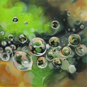 Maria Kanownik (b. 1985) Dew, 2016, Acrylic On Canvas,