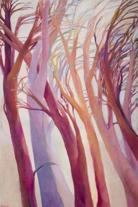Anna Warenik-gabbiani (b. 1981) Flora 3, 2015, Oil On