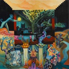 Piotr Urbanek (b. 1976) Days Of Open Sky, 2016, Oil On