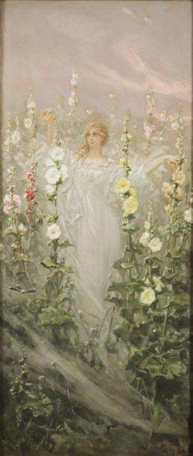 Wilhelm Kotarbinski (1849 - 1922), Girl With
