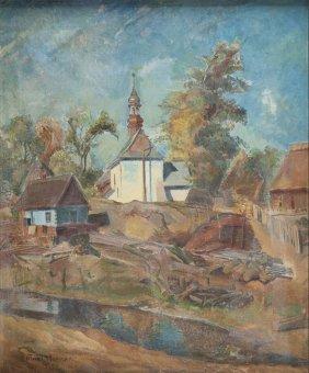 Antoni Michalak (1899 - 1975), Landscape From Kazimierz
