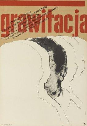 Bronislaw Zelek (b. 1935) Gravitation, 1969; Offset On