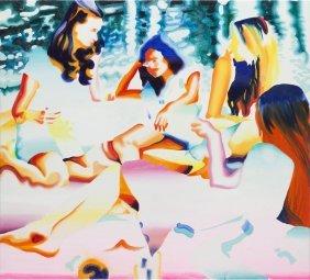 Katarzyna Piotrowicz (b. 1989), Breakfast On The Grass,