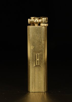 14k Gold Rare Dunhill Lighter