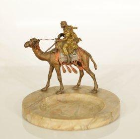 """19th C. Bergman Bronze , Signed """"bergman Austria"""