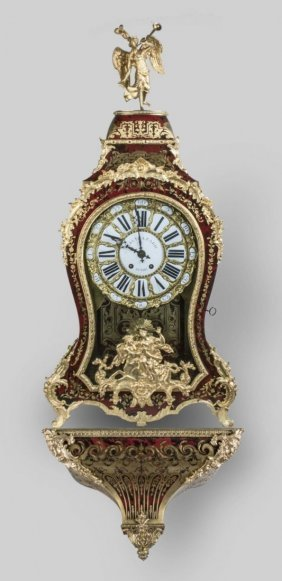Monumental Antique Boulle Clock Baltazar