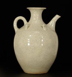 Chinese Glazed Porcelain Ewer