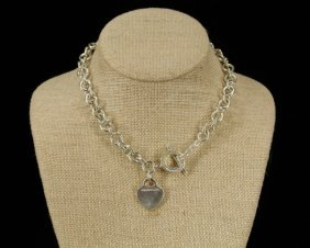 Tiffany Sterling Silver Necklace