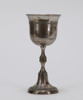 Old Vienna Silver Goblet
