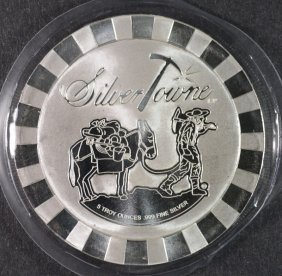 Five Ounce .999 Silver Round From Silvertowne, Nice