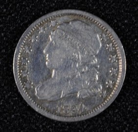 1834 Bust Dime Xf Lustre