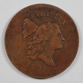 1795 Half Cent Xf Nice Brown Color