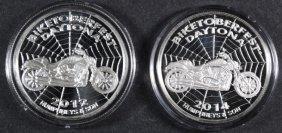 2 - Daytona Biketoberfest Silver .999 Rounds, 2012 &