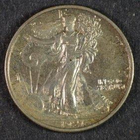 1921-s Walking Liberty Half Dollar Au