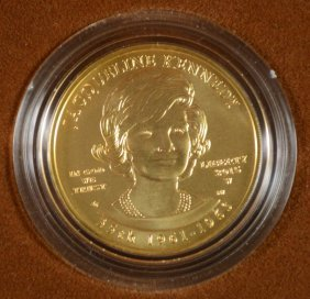 Rare! Jackie Kennedy Spouse Uncirculated .999 Gold
