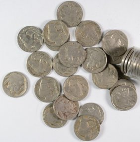 40 - 1930 Buffalo Nickels - Good Or Better