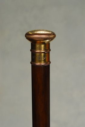 A Great U. S. F. Constitution Relic Cane