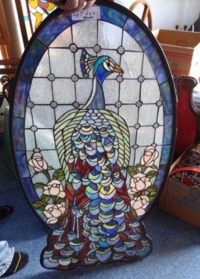 Modern Peacock Window