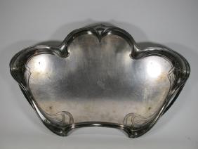 Art Nouveau German WMF Metal Tray