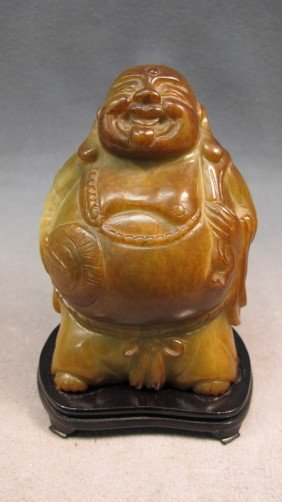 Chinese Buddha Carved Stone