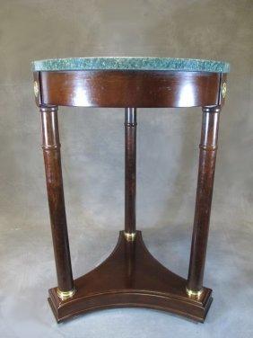 Old French Empire Side Table