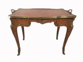F. Linke Style French Ormolu Service Table