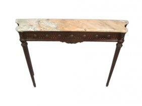 Antique French Louis Xvi Style Console Table
