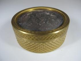 Antique French Bronze Box, LANCRET