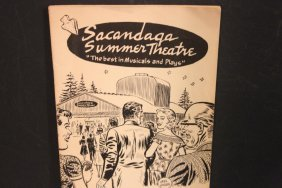 Program For Sacandaga Summer Theater Very Good