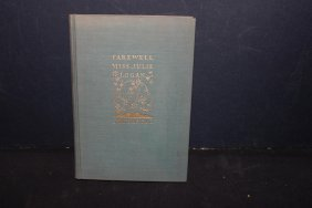 Nice Book By Jm Barrie Farewell Miss Julie Logan 103