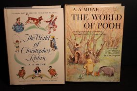 2 Super Like New Condition The World Of Pooh World Of